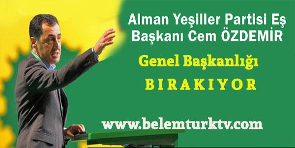Cem Özdemir genel başkanlığı bırakıyor