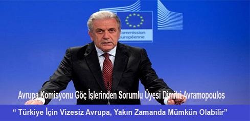 AB'den, Türkiye'ye vizesiz seyahat açıklaması