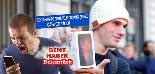 GENT ŞEHRİNDE  SAHTE TELEFON SATICISI 6 KİŞİLİK  ŞEBEKE ÇÖKERTİLDİ!