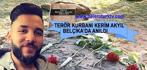 Terör Kurbanı Kerim Akyıl İçin Belçika'nın Houthalen Kasabasında Anma Töreni Düzenlendi