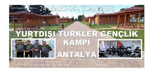 Yurt dışında yaşayan Türk gençlerin kamp sevinci