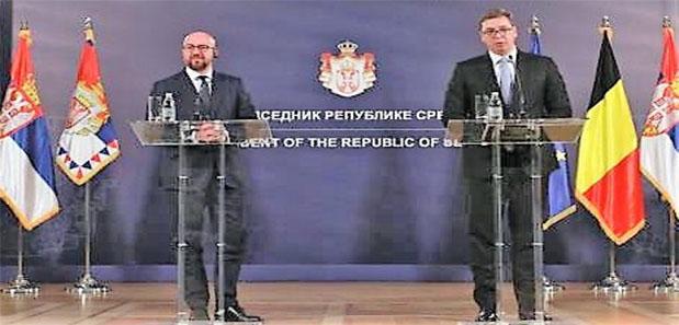 """Belçika Başbakanı Charles Michel, """"Belçika Batı Balkanlar'da Aktif Rol Oynayacak """""""