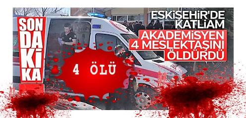 Eskişehir Osmangazi Üniversitesinde Silahlı Saldırı!