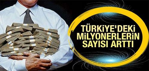 Türkiye'de 141 binden fazla milyoner var