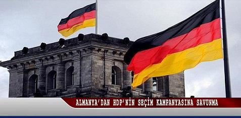 Almanya'dan HDP'nin seçim kampanyasına savunma