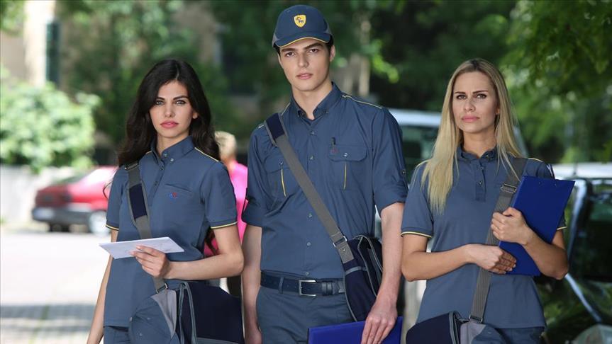 PTT çalışanlarına yeni kıyafet