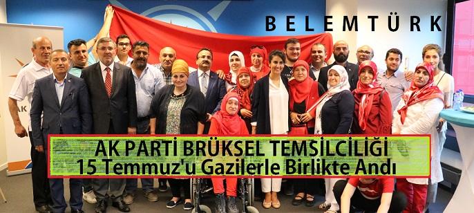 AK Parti Brüksel Temsilciliği'nde 15 Temmuz Demokrasi Şehitleri Anıldı