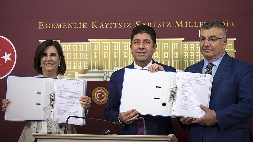 CHP' de imza toplama süresi bitti