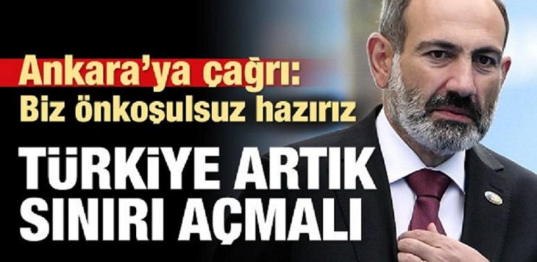 Ermenistan Başbakanı'ndan Türkiye'ye Tarihi Çağrı: Diplomatik İlişkiler Kurmaya Hazırız
