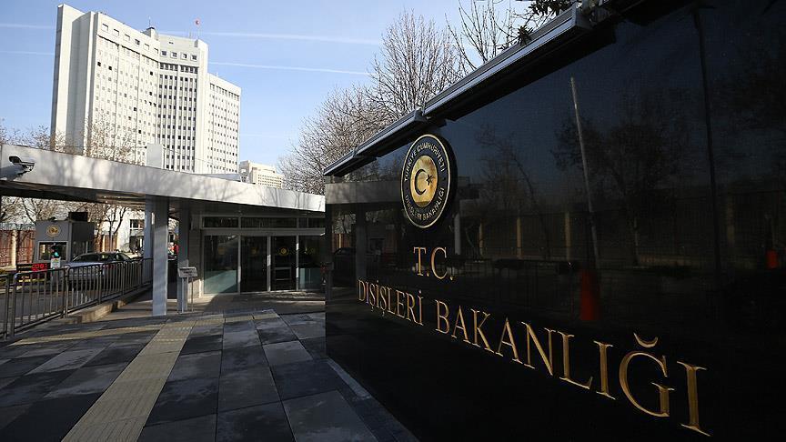 Dışişleri Bakanlığı: Yunanistan Danıştayı skandal bir karara imza attı
