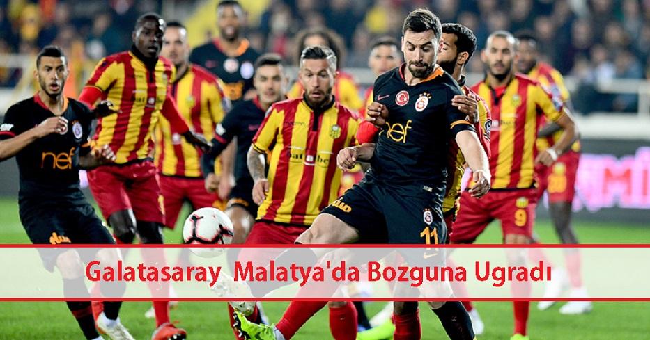 Galatasaray Malatya deplasmanında kaybetti