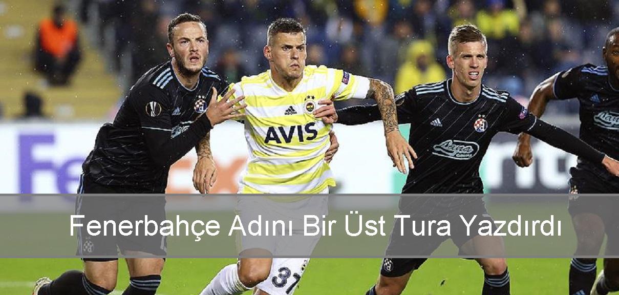 Fenerbahçe UEFA Avrupa Ligi'nde bir üst turda