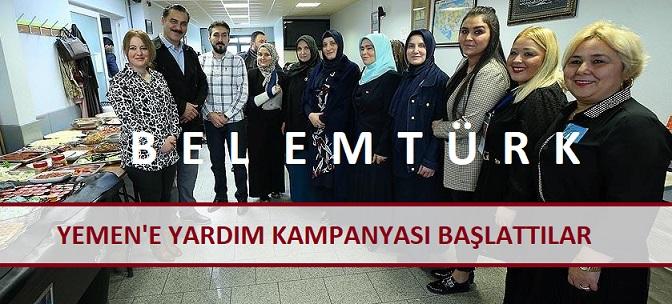 Belçika'daki Türk Kadınlar 'Yemen'e Yardım' Kampanyası Başlattı