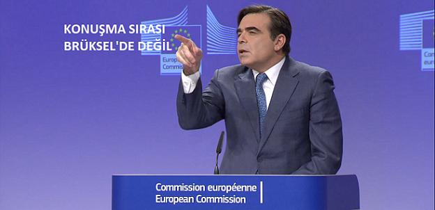 'Konuşma sırası Brüksel'de değil'