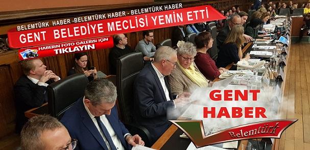 Gent Belediye Meclisi Yemin Etti