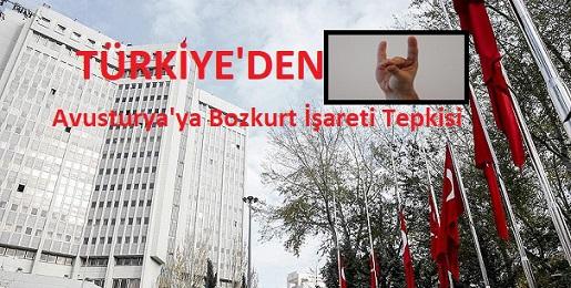 Türkiye'den Avusturya'ya 'Bozkurt' işareti tepkisi
