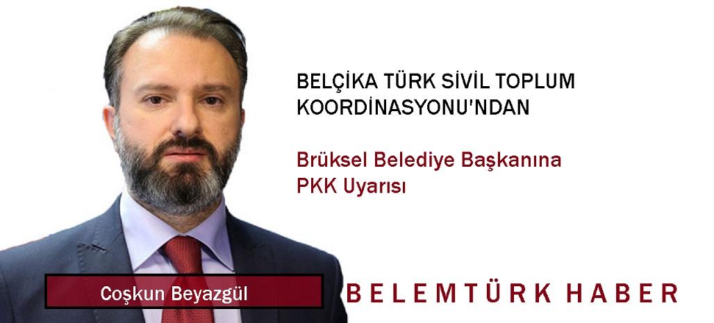 Belçika Türk Sivil Toplum Koordinasyonu'ndan Brüksel Belediye Başkanına PKK Uyarısı