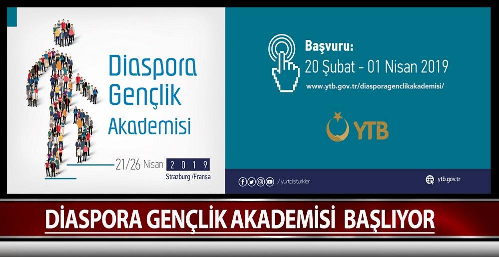Diaspora Gençlik Akademisi Başlıyor
