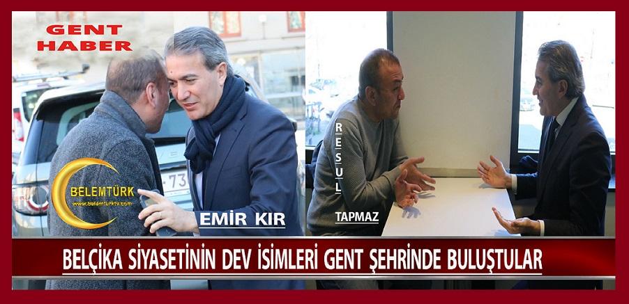 Başkan Emir Kır, Resul Tapmaz'a Nezaket Ziyaretinde Bulundu