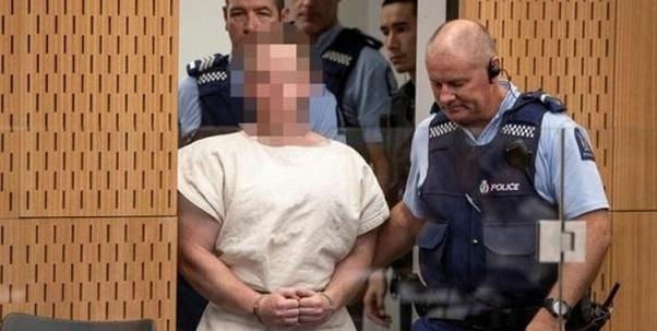 Yeni Zelanda saldırılarının baş zanlısı Tarrant'ın ilk duruşması görüldü