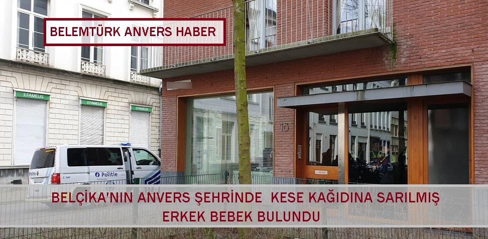 Belçika'nın Anvers Şehrinde Kese Kağıdı İçinde Yeni Doğmuş Bebek Bulundu