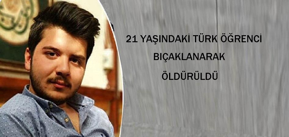 Türk öğrenci  alışveriş merkezinde uğradığı bıçaklı saldırıda yaşamını yitirdi.