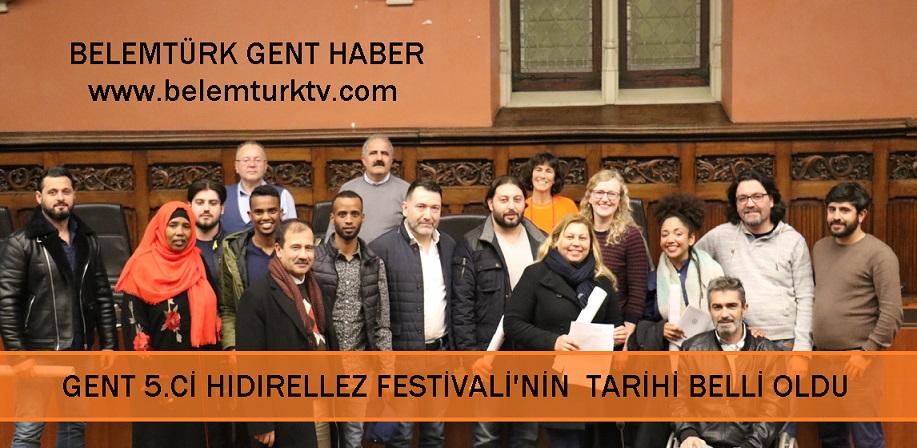GENT, 5. HIDIRELLEZ  FESTİVALİ'NİN YAPILACAĞI TARİH BELLİ OLDU