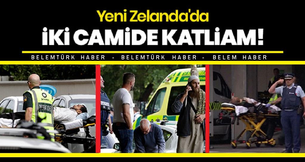 Yeni Zelanda'da  terör saldırısında 49 kişi yaşamını yitirdi. 2 Türk vatandaşı yaralandı.