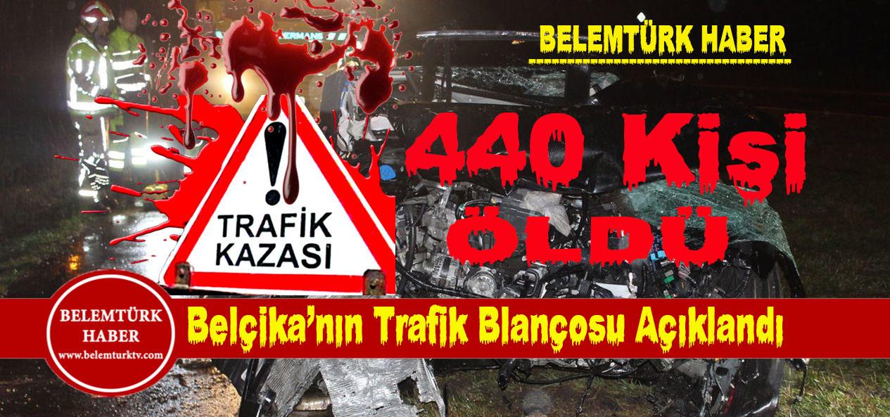 Belçika'da 2018 yılı trafik kaza bilançosu açıklandı