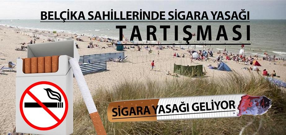 Belçika  Sahillerinde Sigara Yasağı Tartışması
