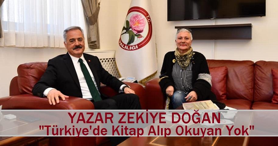 """Belemtürk'ün Gurbetçi Yazarı Zekiye Doğan """"Türkiye'de Kitap Alıp Okuyan Yok"""""""