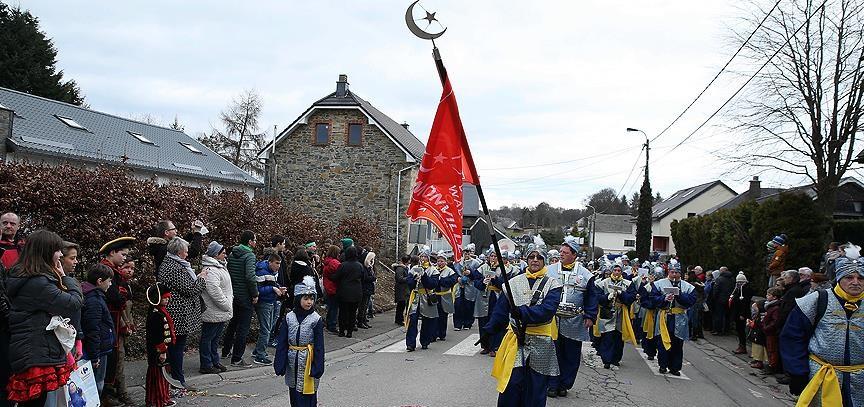 """Belçika'nın """"Türk Köyü'nde Karnaval Coşkusu"""