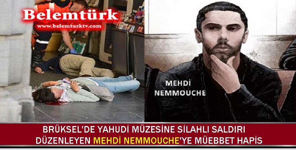 Belçika'daki Yahudi Müzesi Saldırganına Müebbet Hapis