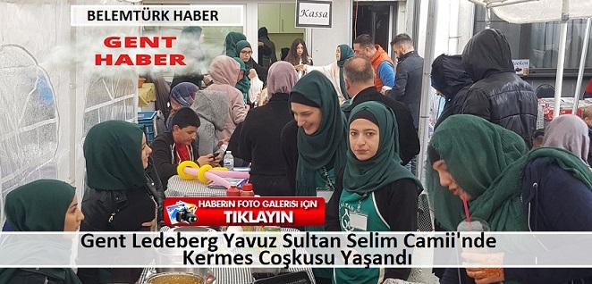 Gent Ledeberg Yavuz Sultan Selim Camii'nin Düzenlediği İki Günlük Kermes Sona Erdi.