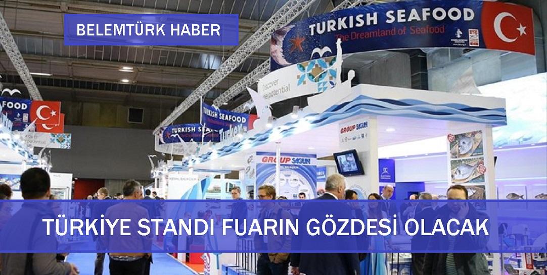 Brüksel'de Türkiye Standı Fuarın Gözdesi Olacak