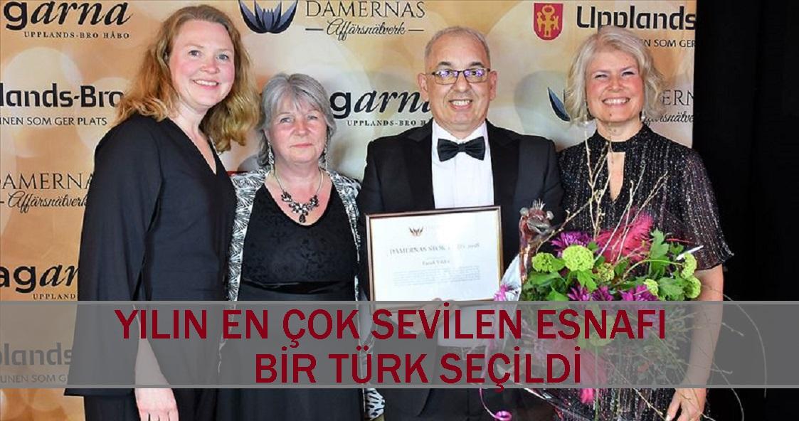 Yılın en sevilen esnafı bir Türk oldu