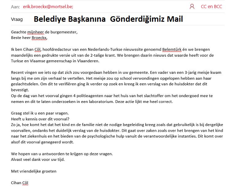 Belçikada 3 yaşındaki Türk çocuğuna cinsel taciz şüphesi