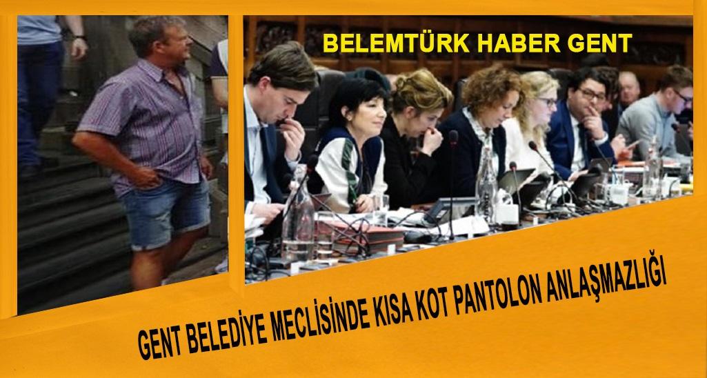 Gent Belediye Meclisi'nde Kısa Kot Pantolon Anlaşmazlığı?