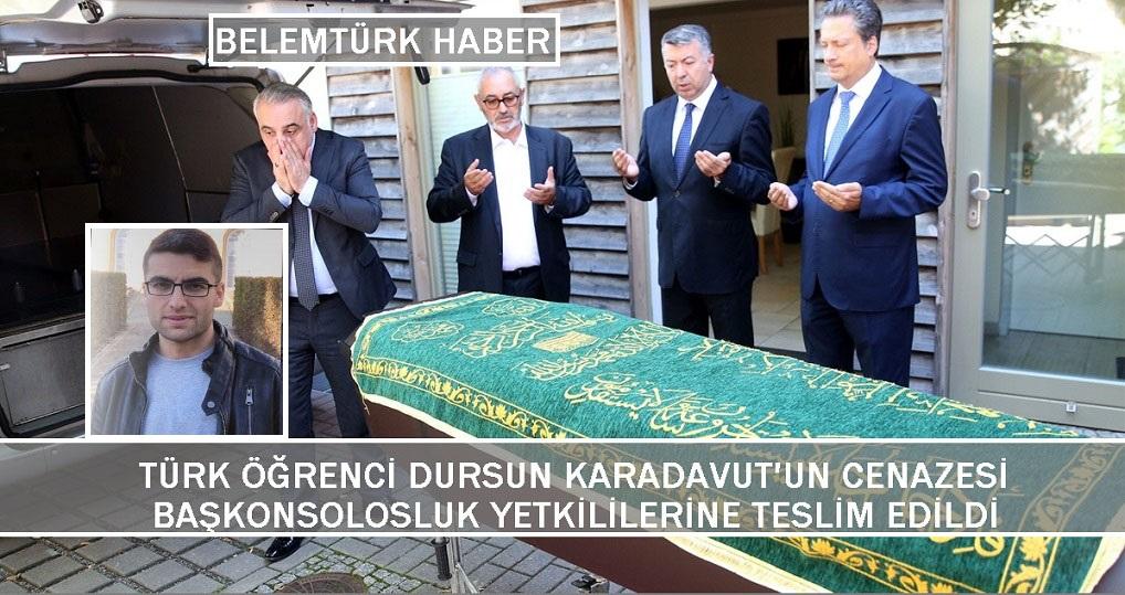 Türk Öğrencinin Cenazesi Konsolosluk Yetkililerine Teslim Edildi