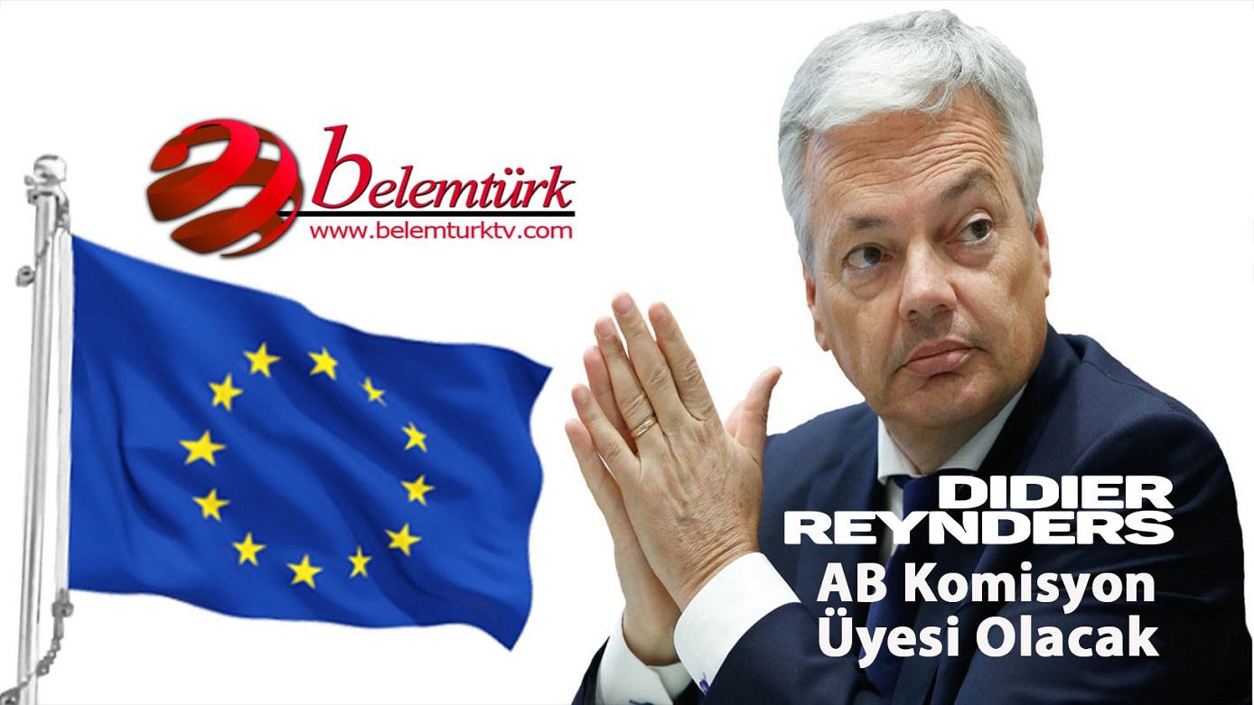 Belçika'nın yeni AB Komisyonu üyesi Bakan Didier Reynders olacak
