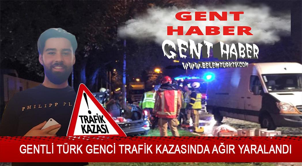 22 yaşındaki Gentli Türk genci trafik kazasında ağır yaralandı