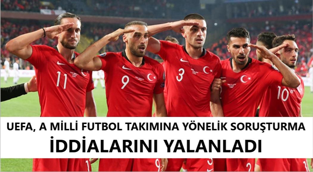 UEFA, A Milli Futbol Takımı'na yönelik soruşturma iddialarını yalanladı