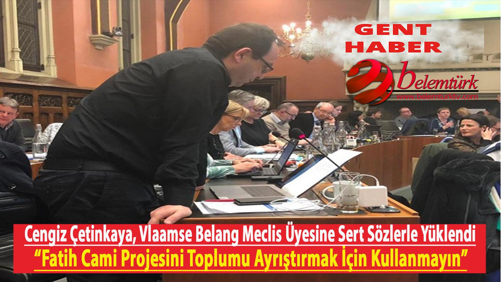 """Cengiz Çetinkaya : """"Fatih Camii projesini toplumu ayrıştırmak için kullanmayın"""""""