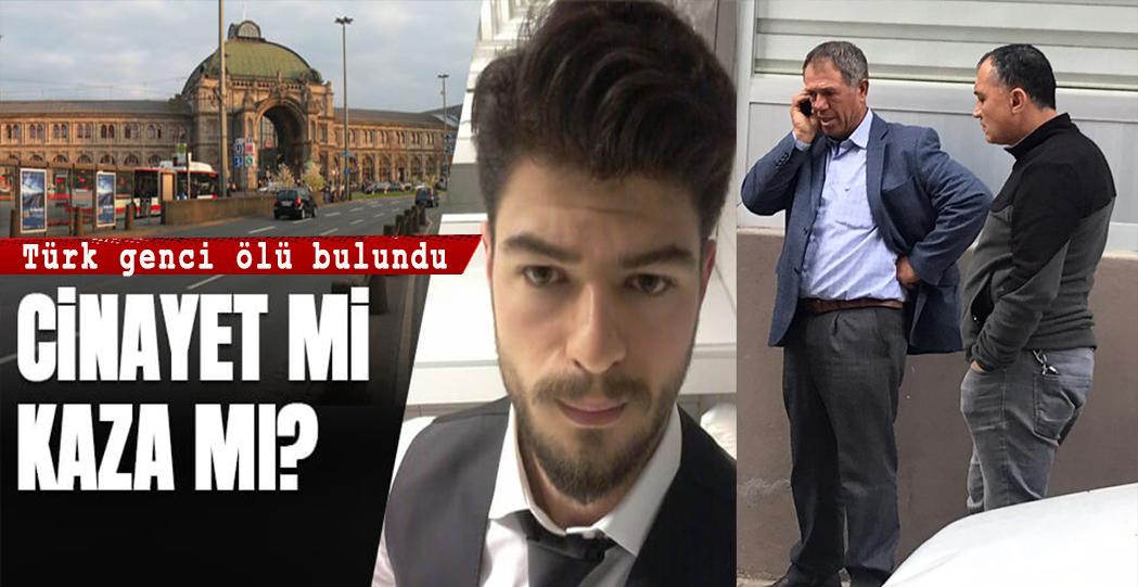 Türk gencinin tren istasyonunda sır ölümü!