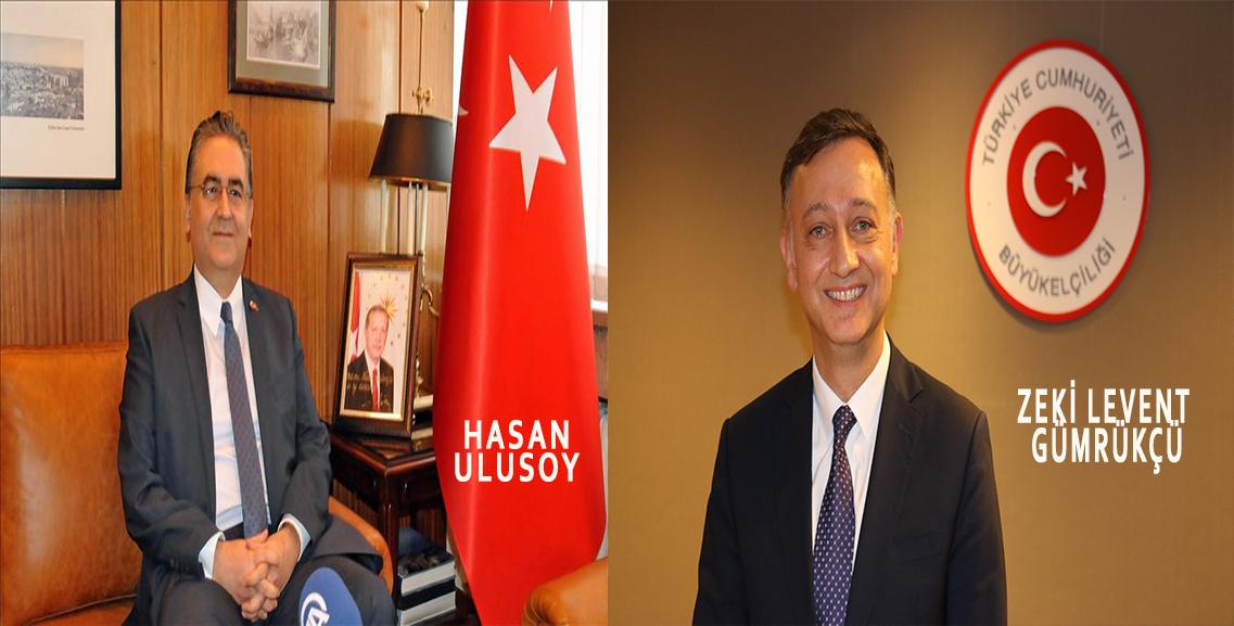 Resmi Gazete'de yayımlandı. Brüksel Büyükelçisi Gümrükçü Merkeze, Bulgaristan Büyükelçisi Hasan Ulusoy Bürüksel'e geliyor.
