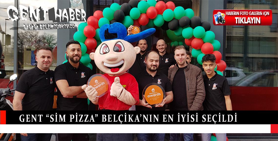 """Gent """"Sim Pizza"""" Belçika'nın en iyisi seçildi"""