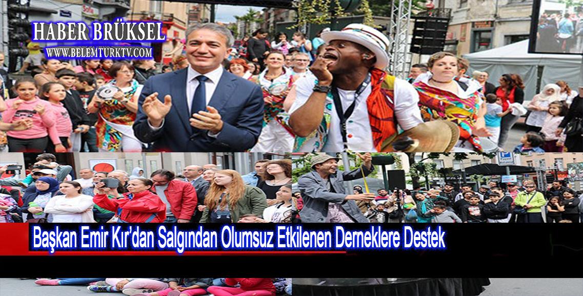 Başkan Emir Kır'dan salgından olumsuz etkilenen sanat ve kültür derneklerine destek