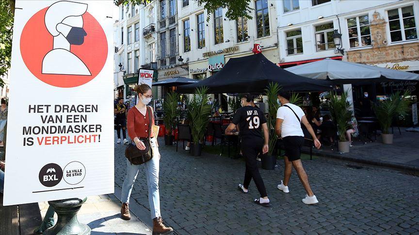 Belçika'da ortalama vaka sayısı  564'e çıktı. Toplam vaka sayısı 73 bini aştı.