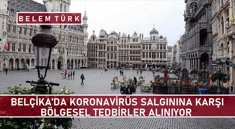 """Belçika'da Kovid-19 salgınına karşı """"bölgesel"""" yeni tedbirler alınıyor"""