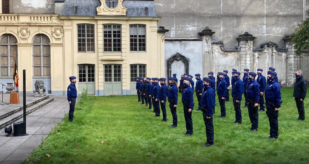 Gent şehrinde 48 polis memuru karantinaya alındı